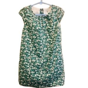 Carter's flowered dress green and white 5T